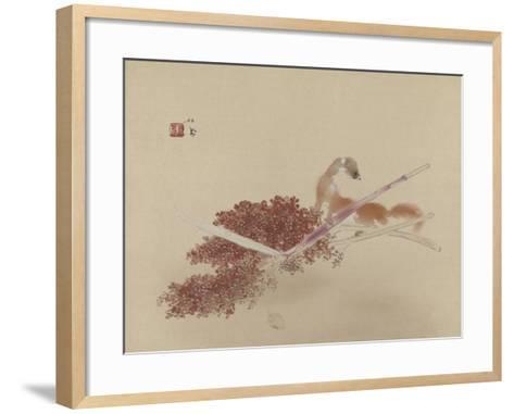 Seihô'S Masterworks: Ferret and Millet--Framed Art Print