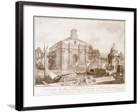 All Saints Gate--Framed Art Print