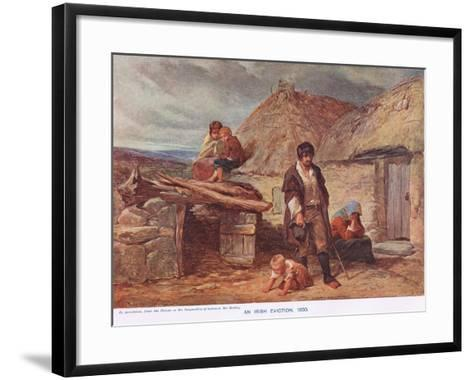 Illustration from 'Cassell's History of the British People', C.1910--Framed Art Print