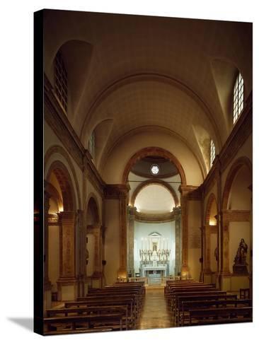 Italy, Emilia-Romagna, Rimini, Church of Colonnella, Central Nave, Renaissance--Stretched Canvas Print