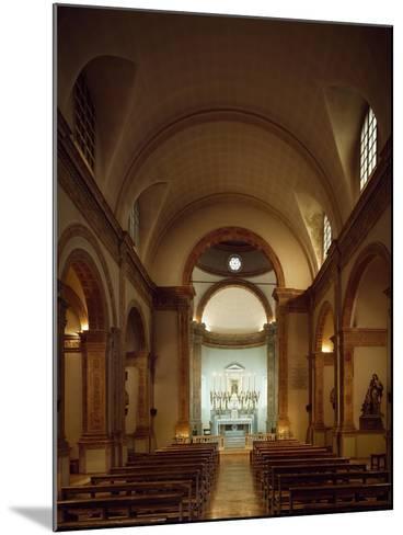 Italy, Emilia-Romagna, Rimini, Church of Colonnella, Central Nave, Renaissance--Mounted Giclee Print