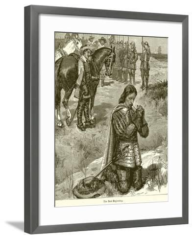 The Best Beginning--Framed Art Print