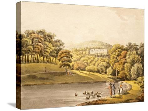 Pool Near Koblenz, Germany 18th Century Print--Stretched Canvas Print