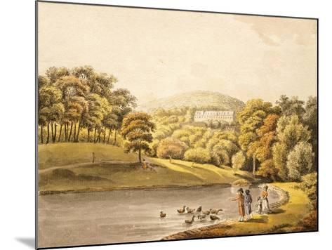 Pool Near Koblenz, Germany 18th Century Print--Mounted Giclee Print