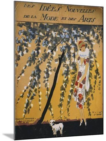 """Fashion Magazine """"Les Idees Nouvelles De La Mode Et Des Arts"""", Cover No. 2, 1925--Mounted Giclee Print"""