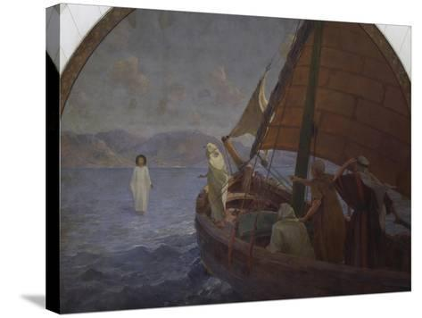 Christ Walking on Water, 1921--Stretched Canvas Print