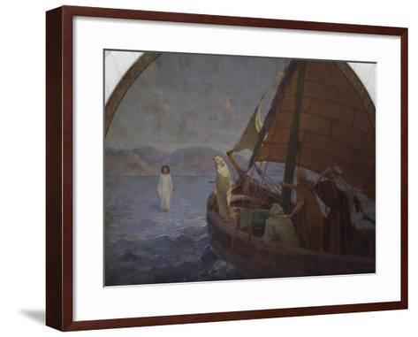 Christ Walking on Water, 1921--Framed Art Print