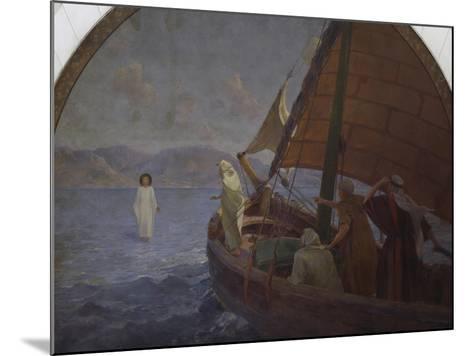 Christ Walking on Water, 1921--Mounted Giclee Print