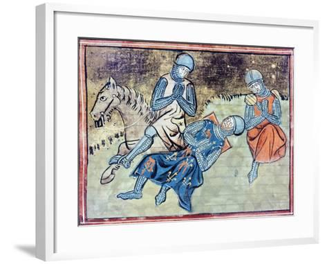 The Song of Roland: the Death of Roland--Framed Art Print