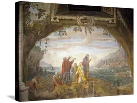 Event in Life of St Mary Magdalene, 1663--Stretched Canvas Print