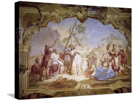 Weddings, Scene Taken from Giovanni Battista Guarini's Pastor Fido--Stretched Canvas Print