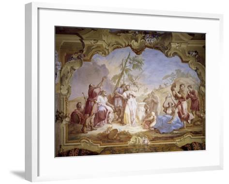 Weddings, Scene Taken from Giovanni Battista Guarini's Pastor Fido--Framed Art Print