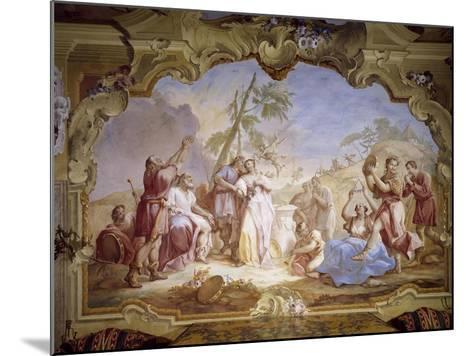 Weddings, Scene Taken from Giovanni Battista Guarini's Pastor Fido--Mounted Giclee Print