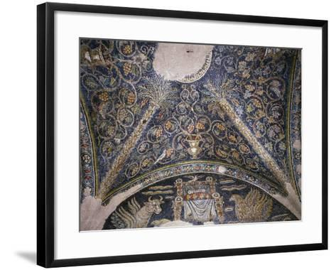 Mosaic Vault, Chapel of Santa Matrona, Church of San Prisco, San Prisco, Campania, Italy--Framed Art Print