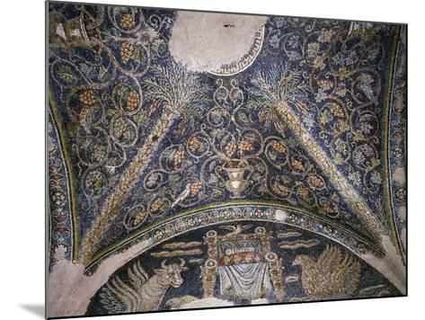 Mosaic Vault, Chapel of Santa Matrona, Church of San Prisco, San Prisco, Campania, Italy--Mounted Giclee Print