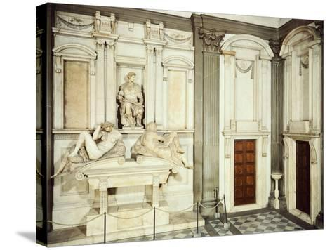 Medici Tombs, 16th Century, New Sacristy, Basilica of St Lawrence, Florence, Italy, 16th Century--Stretched Canvas Print