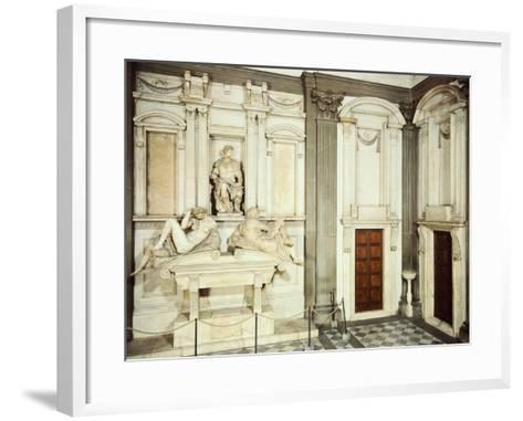 Medici Tombs, 16th Century, New Sacristy, Basilica of St Lawrence, Florence, Italy, 16th Century--Framed Art Print