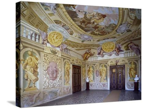 Glimpse of Abduction of Proserpine Room, 1684--Stretched Canvas Print