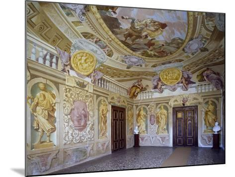 Glimpse of Abduction of Proserpine Room, 1684--Mounted Giclee Print
