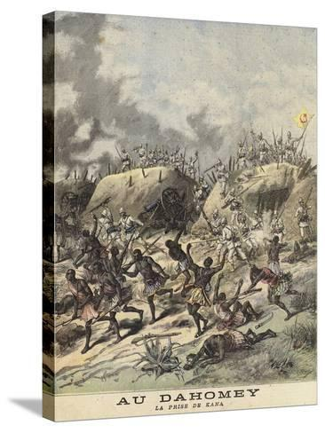 Unrest in Dahomey--Stretched Canvas Print