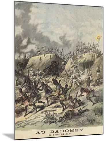 Unrest in Dahomey--Mounted Giclee Print