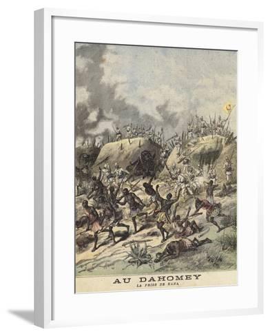 Unrest in Dahomey--Framed Art Print