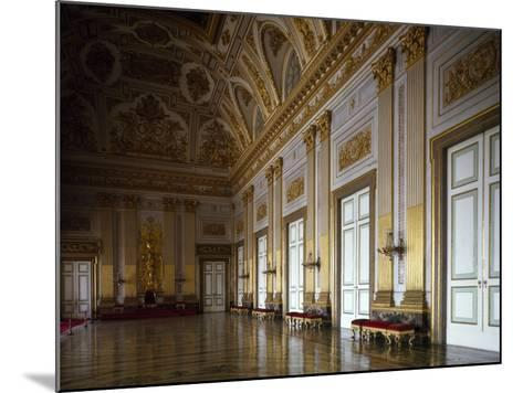 Throne Room, Interior of Royal Palace of Caserta--Mounted Photographic Print