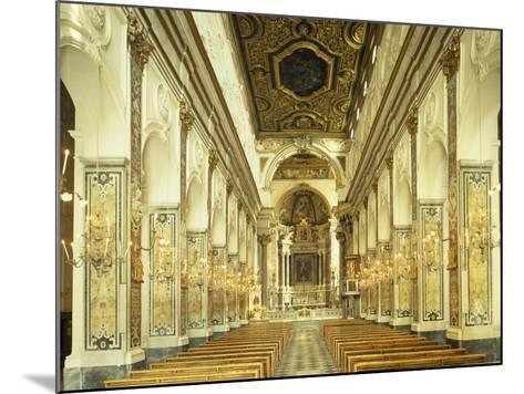 Central Nave, Amalfi Cathedral, Campania, Italy, 9th-16th Century--Mounted Giclee Print