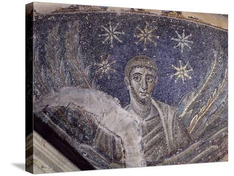 Mosaic Detail, Baptistery of Cathedral of Santa Maria Assunta, Naples, Campania, Italy--Stretched Canvas Print