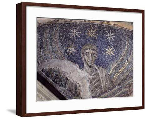 Mosaic Detail, Baptistery of Cathedral of Santa Maria Assunta, Naples, Campania, Italy--Framed Art Print