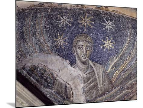 Mosaic Detail, Baptistery of Cathedral of Santa Maria Assunta, Naples, Campania, Italy--Mounted Giclee Print