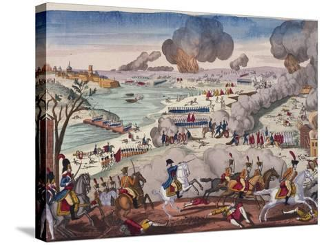 Battle of Wagram, July 5-6, 1809, Napoleonic Wars, Austria--Stretched Canvas Print