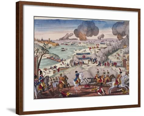 Battle of Wagram, July 5-6, 1809, Napoleonic Wars, Austria--Framed Art Print