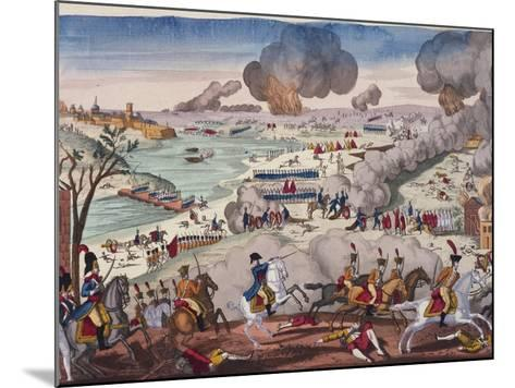 Battle of Wagram, July 5-6, 1809, Napoleonic Wars, Austria--Mounted Giclee Print