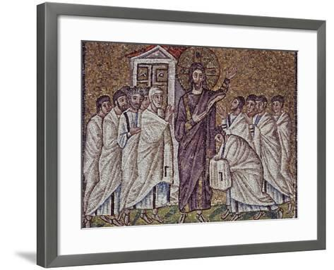 Christ's Appearance to Apostles and Doubting St Thomas--Framed Art Print