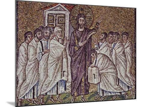 Christ's Appearance to Apostles and Doubting St Thomas--Mounted Photographic Print