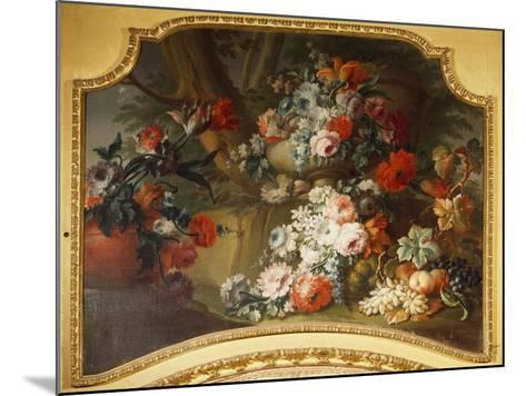 Decorative Panel with Floral Motifs, Stupinigi's Little Hunting Palace--Mounted Giclee Print