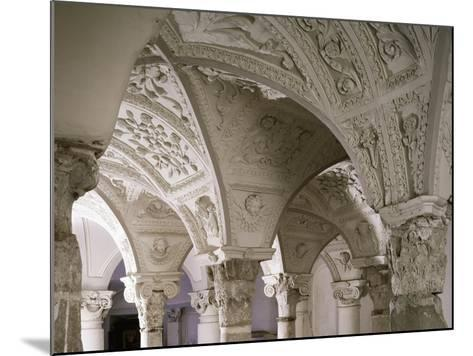 Architectonic Detail from Interior of Parish Church of Blera, Lazio, Italy--Mounted Giclee Print