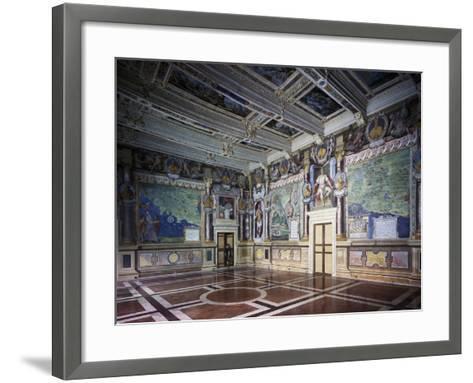Royal or Hercules Hall with Frescoes, Hercules Hally Baldassare Croce--Framed Art Print
