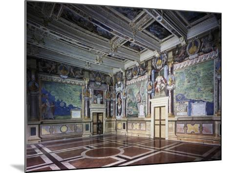 Royal or Hercules Hall with Frescoes, Hercules Hally Baldassare Croce--Mounted Giclee Print