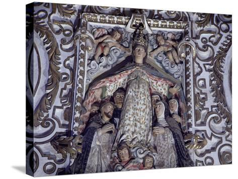 Virgin of Mercy, Detail from Saints of Paradise--Stretched Canvas Print