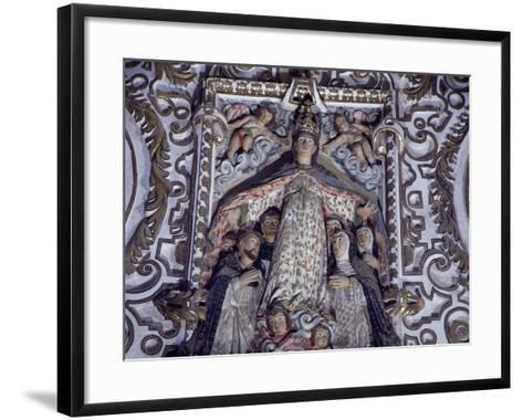 Virgin of Mercy, Detail from Saints of Paradise--Framed Art Print