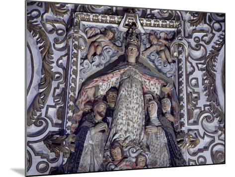 Virgin of Mercy, Detail from Saints of Paradise--Mounted Giclee Print
