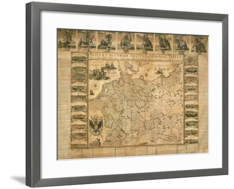 New and Accurate Illustration of Germany in its Entirety--Framed Art Print