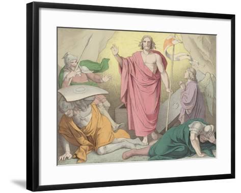 The Resurrection--Framed Art Print