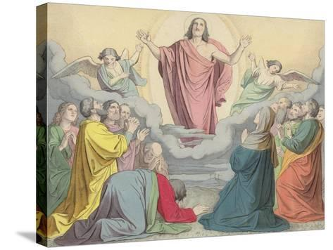 The Ascension--Stretched Canvas Print