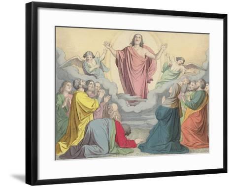 The Ascension--Framed Art Print