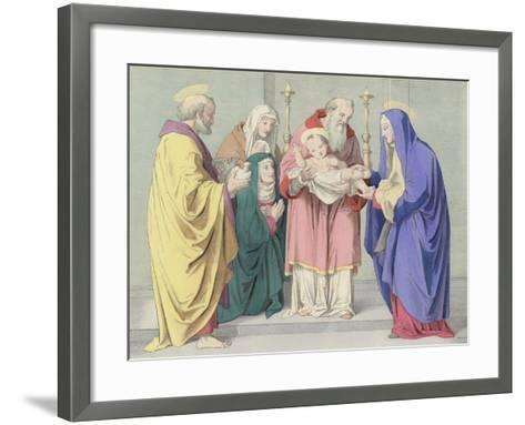 The Presentation in the Temple--Framed Art Print