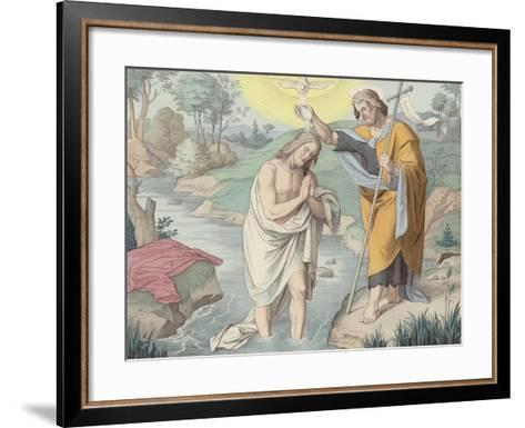 Jesus Baptised--Framed Art Print