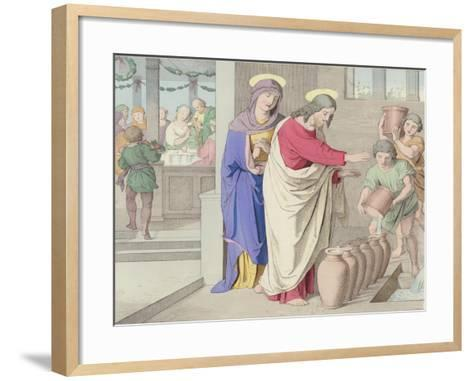 The Marriage in Cana--Framed Art Print